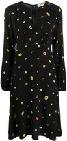 Diane von Furstenberg Andrea long-sleeve dress