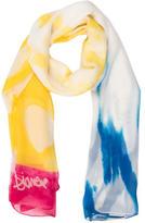 Diane von Furstenberg Tie-Dye Print Scarf