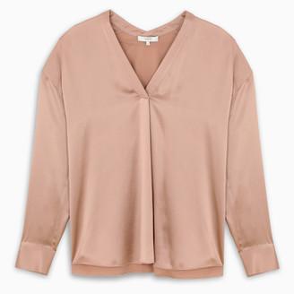 Vince Pink silk blouse