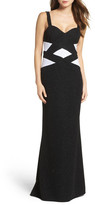 Xscape Evenings Banded Mermaid Gown