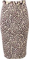 Givenchy Jaguar Jersey Skirt