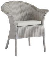 One Kings Lane Goleta Side Chairs - Gray - frame, gray; upholstery, white