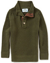 Class Club Little Boys 2T-7 Mock-Neck Textured Sweater