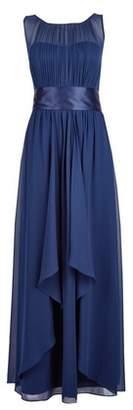 Dorothy Perkins Womens **Showcase Navy Nicole Maxi Dress