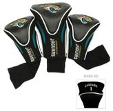 NFL Jacksonville Jaguars 3-Pack Contour Golf Club Headcovers