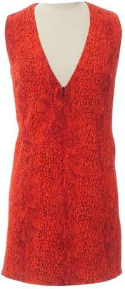 Roseanna Red Polyester Dresses