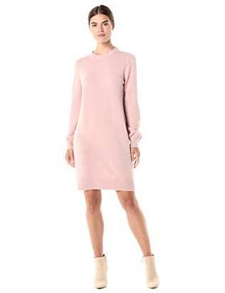 Daily Ritual Mid-gauge Stretch Crewneck Sweater DressXS