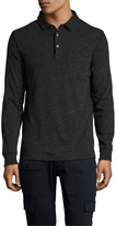 Life After Denim Men's Cotton Rugby Patch Pocket Polo Shirt