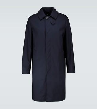 MACKINTOSH Dunkel one-button overcoat