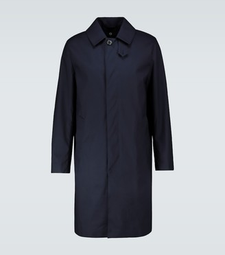 MACKINTOSH Dunkeld one-button overcoat