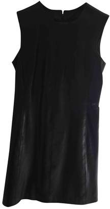 Jaeger Black Leather Dress for Women