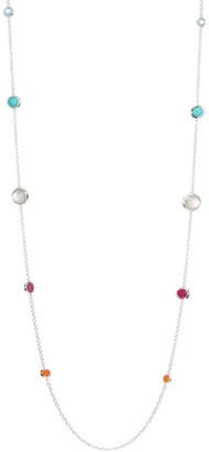 Ippolita Rock Candy Sterling Silver & Multi-Stone Graduated Lollipop Necklace