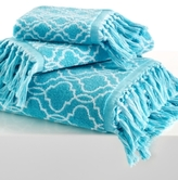 "Dena Home Tangier Jacquard 11"" x 18"" Fingertip Towel"