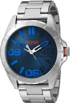 BOSS ORANGE Men's Quartz Stainless Steel Automatic Watch, Color: Silver-Toned (Model: 1513382)