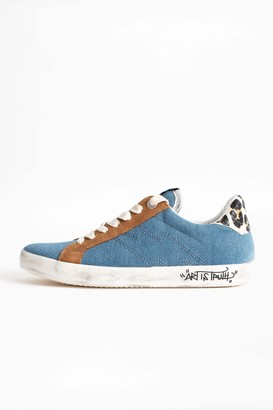 Zadig & Voltaire Denim Used Sneakers