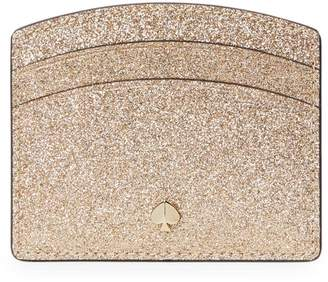 Kate Spade Burgess Court Glitter Leather Cardholder