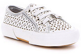 MICHAEL Michael Kors Girls' Ima Borium Laser Cutout Lace-Up Sneakers