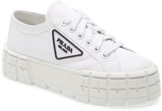 Prada Logo Lug Platform Sneaker