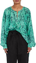 Faith Connexion Women's Floral Silk Georgette Blouse
