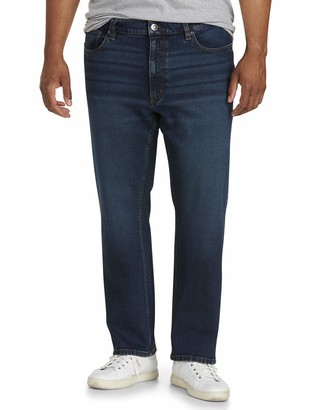 Amazon Essentials Men's Big & Tall Straight-Fit Stretch Jean fit by DXL