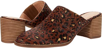 Madewell The Carey Mule (Rich Brown Multi Leopard Haircalf) Women's Clog Shoes