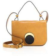 Marni Iolite-Detail Leather Shoulder Bag
