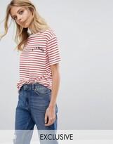 Whistles Exclusive A La Mode Striped T- Shirt