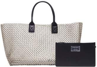 Bottega Veneta City Veneta Metallic Leather Handbags