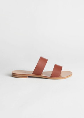 And other stories Duo Strap Leather Sandals