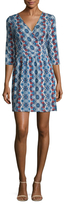 Tart Isabella Surplice Printed Wrap Dress