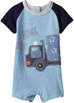 Mud Pie Honk Truck Raglan One-Piece Boy's Jumpsuit & Rompers One Piece