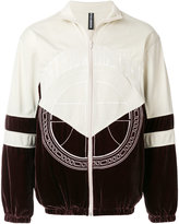 Astrid Andersen embroidered logo track jacket