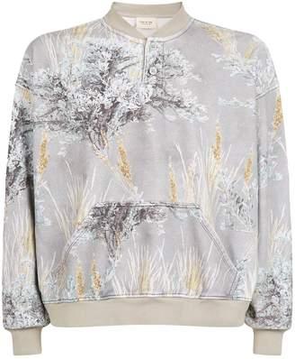 Fear Of God Floral Print Sweatshirt