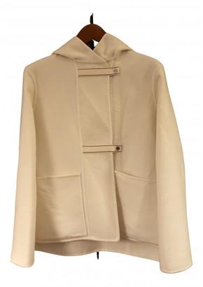 Hermes White Cashmere Coats