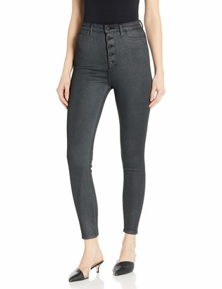 DL1961 Women's Chrissy Ultra High Rise Skinny Fit Ankle Jean