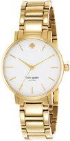 Kate Spade Watch, Women's Gramercy Gold-Tone Bracelet 34mm 1YRU0002