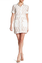 Greylin Lori Lace Shirt Dress