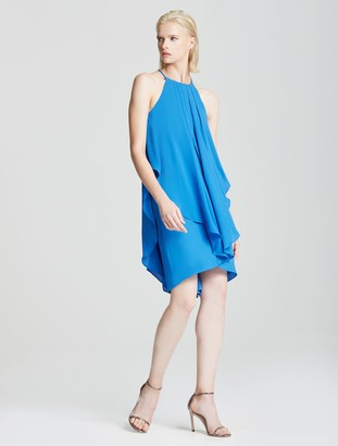 Halston Multi Strap Dress
