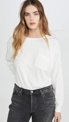 Alexander Wang Vintage Cotton Long Sleeve Tee