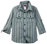 Tea Collection Chambray Dobby Shirt (Toddler, Little Boys, & Big Boys)