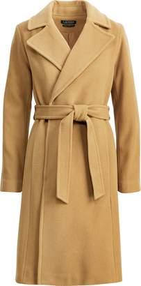 Ralph Lauren Wool-Cashmere Wrap Coat