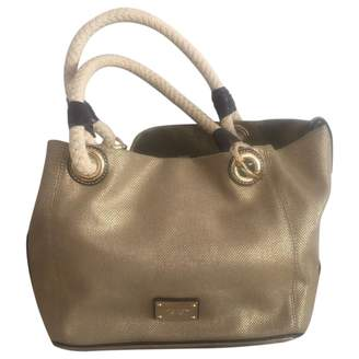Michael Kors Gold Cloth Handbags