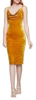 BCBGeneration Velvet Cocktail Dress