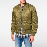 Paul Smith Men's Khaki Bomber Jacket