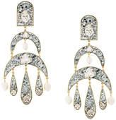 Shourouk Half Moon pendant earrings