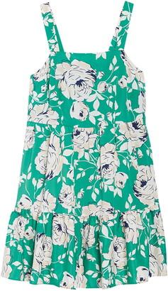 Eliza J Tiered Floral Print Dress