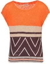 Benetton MAGLIA Print Tshirt orange