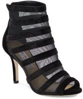 Saks Fifth Avenue Peep Toe Ankle Boots