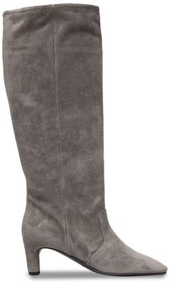 Del Carlo Knee-High Suede Boots