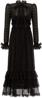 Zimmermann Verity Pintuck Long Dress
